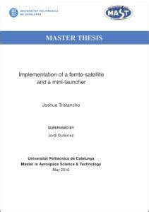 Master of science thesis